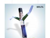 Biruta Tipo Boneco de Posto- Biruta personalizado - Biruta completo com Exaustor