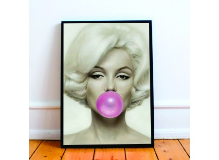 Quadro  Marilyn Bubble