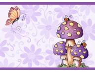 Faixa decorativa Cogumelos-1