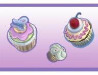 Faixa decorativa Cupcake