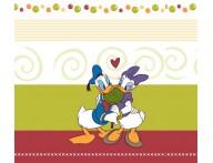 Faixa infantil Pato Donald e Margarida-1