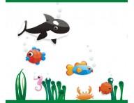 Faixa decorativa infantil Fundo do mar-01