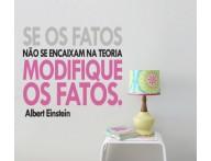 ADESIVO FRASE ALBERT EINSTEIN