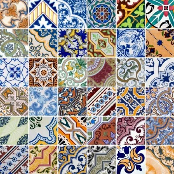 Azulejo cartela cole o portugu s retr 02 - Copia de azulejos ...