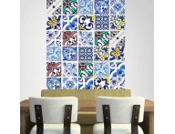 Azulejo cartela coleção indiano mix