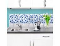 Azulejo cartela coleção português azul