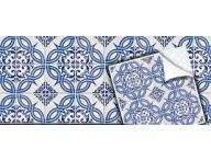 Azulejo cartela coleção indiano azul 02